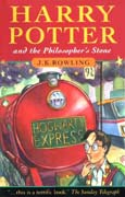 Book Cover for  Harry Potter and the Philosopher's Stone by J K Rowling