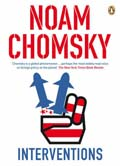 Book Cover for  Interventions by Noam Chomsky