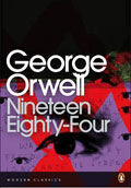 Book Cover for  Nineteen Eighty-Four by George Orwell