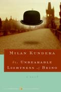 Book Cover for The Unbearable Lightness of Being by Milan Kundera