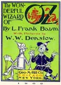 Book Cover for The Wonderful Wizard of Oz by L Frank Baum